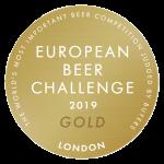 Winner of the European Beer Challenge 2019 – Gold