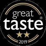 Winner of the 2019 Great Taste 2 star award